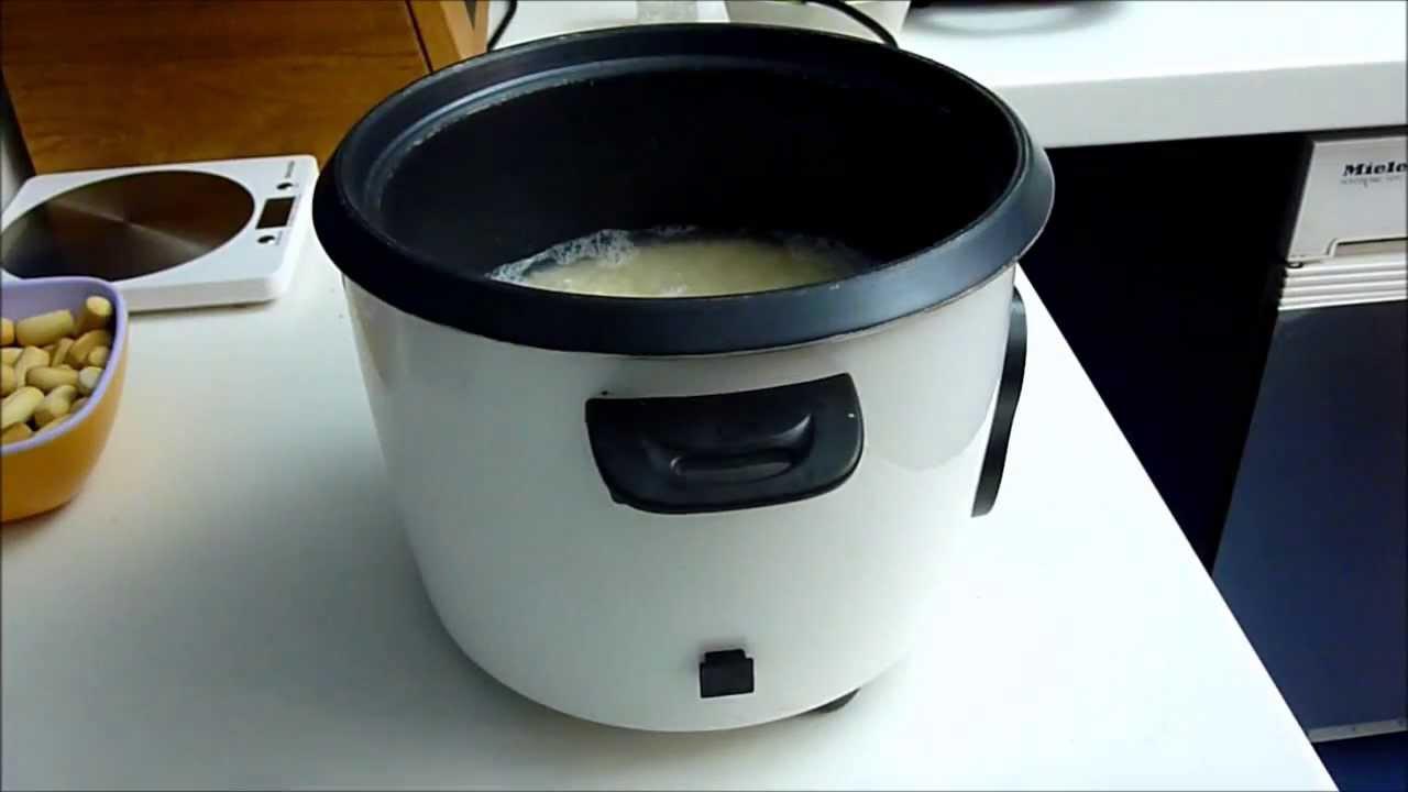 C mo se prepara el arroz para hacer sushi youtube for Como se cocina el arroz