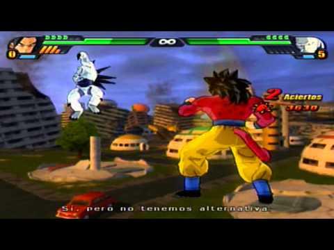 Dragon Ball Z Budokai Tenkaichi 3 Version Latino  Modo Historia *Gogeta SSJ4 vs 1 Estrella*