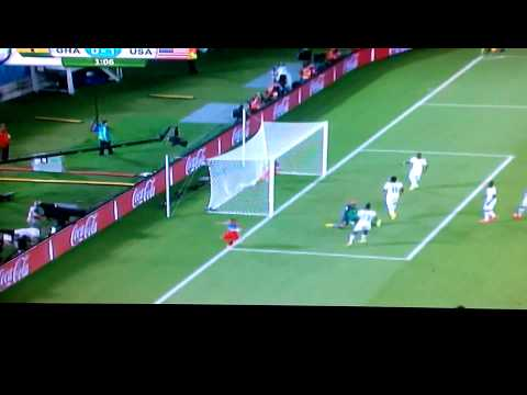 Clint Dempsey goal vs ghana 30 seconds.