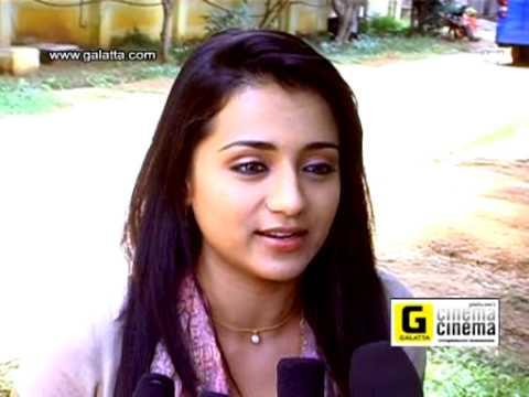 Trisha Talks About Boologam Tamil movie