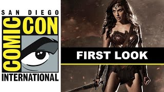 Comic Con 2014 Wonder Woman Costume Reveal With Gal