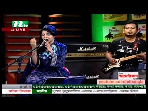 Live Bangla Song 2013 ft Porshi - Tomake Khuje Pai