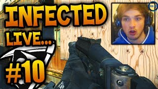 """NO WAY!"" - Road To - KEM Infected #10 LIVE w/ Ali-A! - (Call of Duty: Ghost Gameplay)"