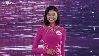 Mê mẩn ngắm thí sinh hoa hậu Việt Nam trình diễn áo dài đầy duyên dáng | Top 4