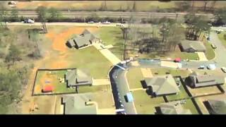 Aerial Footage of Arkansas Oil Spill