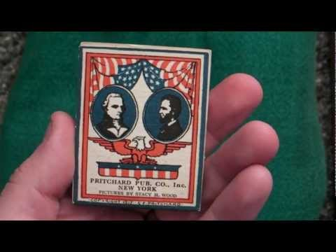 1930s 1940s Patriotic American Flag Flipbook