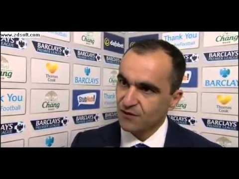 Everton 2 3 Man City: Roberto Martinez praises players