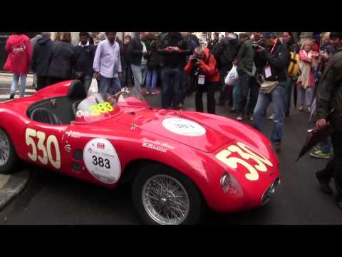 Following the Mille Miglia 2013 - First day May 16, 2013
