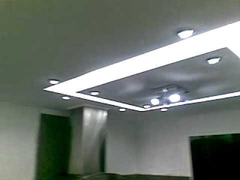 Techo en drywall para cocina youtube for Techos de drywall para dormitorios