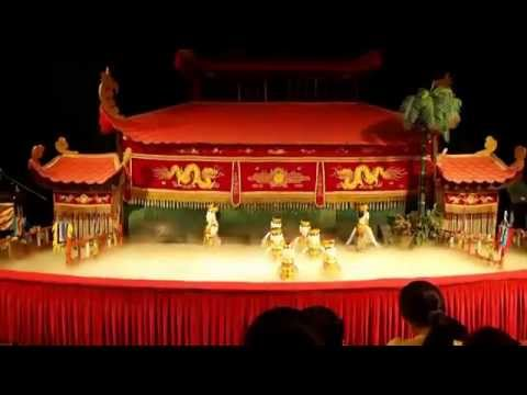 Water Puppet Show - Dancing Wood Dolls in Ho Chi Minh City