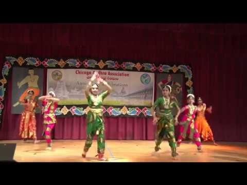 "CAA - First Anniversary  - Mar 18th 2017 - Item-8 - ""Manjunatha"" Classical Dance"