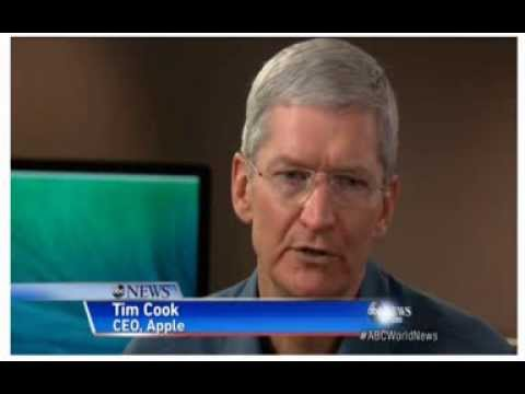 Apple's Tim Cook on NSA, What's Next as Mac Turns 30 - ABC News, January 24th