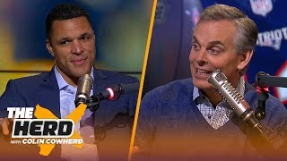 Tony Gonzalez on the coaching job in Green Bay, skydiving at Fort Benning   NFL   THE HERD