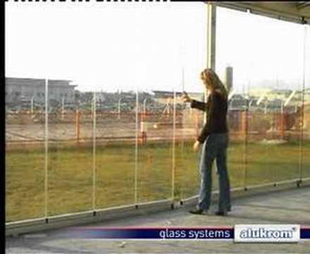 System przestrzeni okiennej Alukrom
