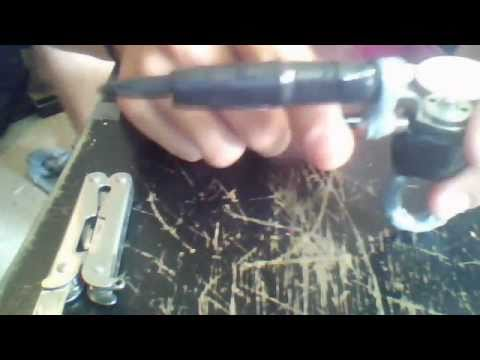How to make your own tattoo gun youtube for How to make tattoo gun with pen