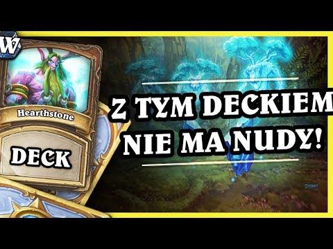 Z TYM DECKIEM NIE MA NUDY! - TOKEN DRUID - Hearthstone Deck Wild (Witchwood)