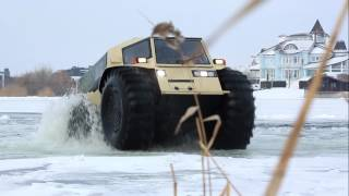 The Amphibious Russian Skid Steer