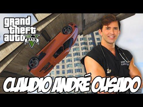 GTA V - Claudio André OUSADO corrida melhor que a do Lord