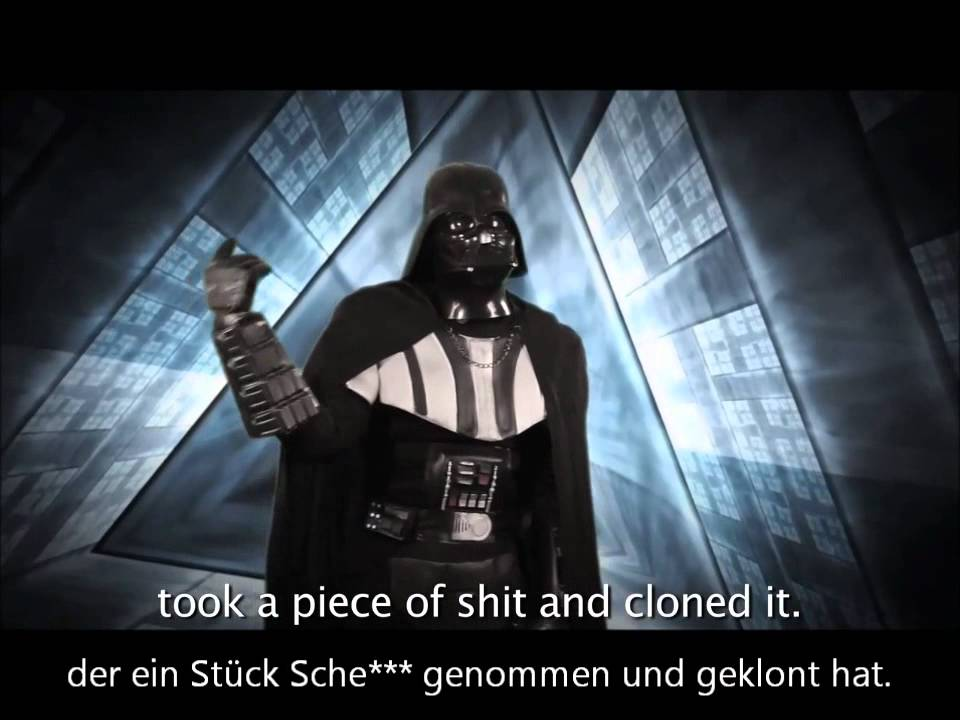 epic rap battles of history darth vader vs hitler hd. Black Bedroom Furniture Sets. Home Design Ideas