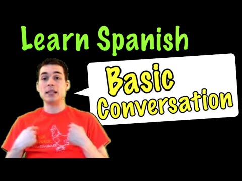 01001 - Spanish Lesson: Basic Conversation (Part 1)