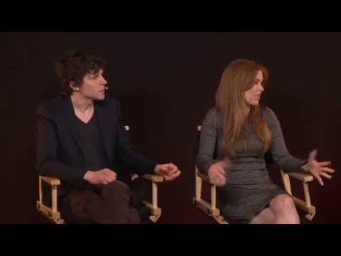 Jesse Eisenberg & Isla Fisher: Now You See Me Interview