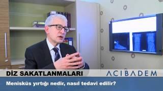 Menisküs yırtığı nedir, nasıl tedavi edilir? - Prof. Dr. Ömer Faruk Taşer