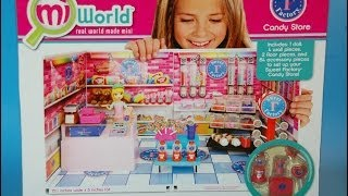 MiWorld Sweet Factory Candy Store Deluxe Set KidToyTesters