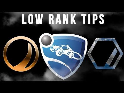 Beginner Tutorial - Bronze/Silver Tips And Tricks - Rocket League