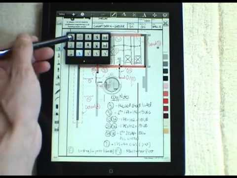 iPad - Sketchbook Pro [Review], how Engineers and Architects can use this great tool