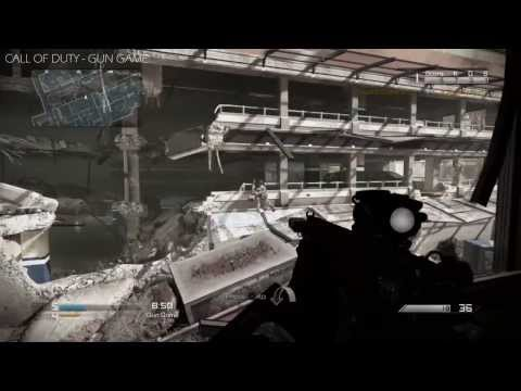 CALL OF DUTY GHOSTS : Gun Game (Gameplay)   Playstation 4