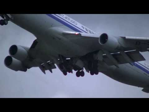 Air China Cargo B-2475 B747-4FTF Take-off from Schiphol Intl. Airport