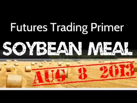 Aug 8/13 - Soy Bean Meal - Daily, Weekly and Monthly Chart Review by Futures Trading Primer