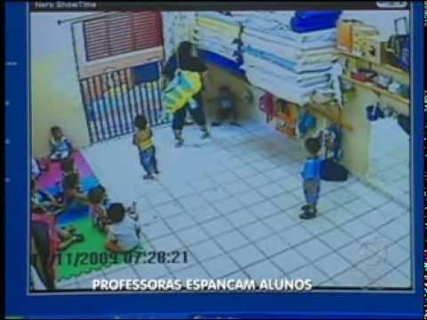 Câmera flagra professora de creche agredindo crianças em São José do Rio Preto