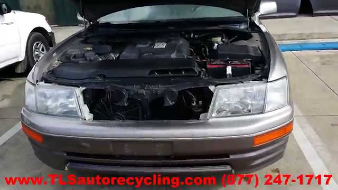 maxresdefault parting out 1996 lexus ls 400 stock 4047bk tls auto recycling 91 Lexus LS400 Slammed at gsmportal.co