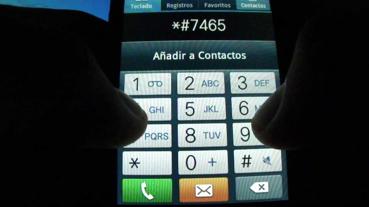 Samsung galaxy hidden service menu codigos secretos android youtube