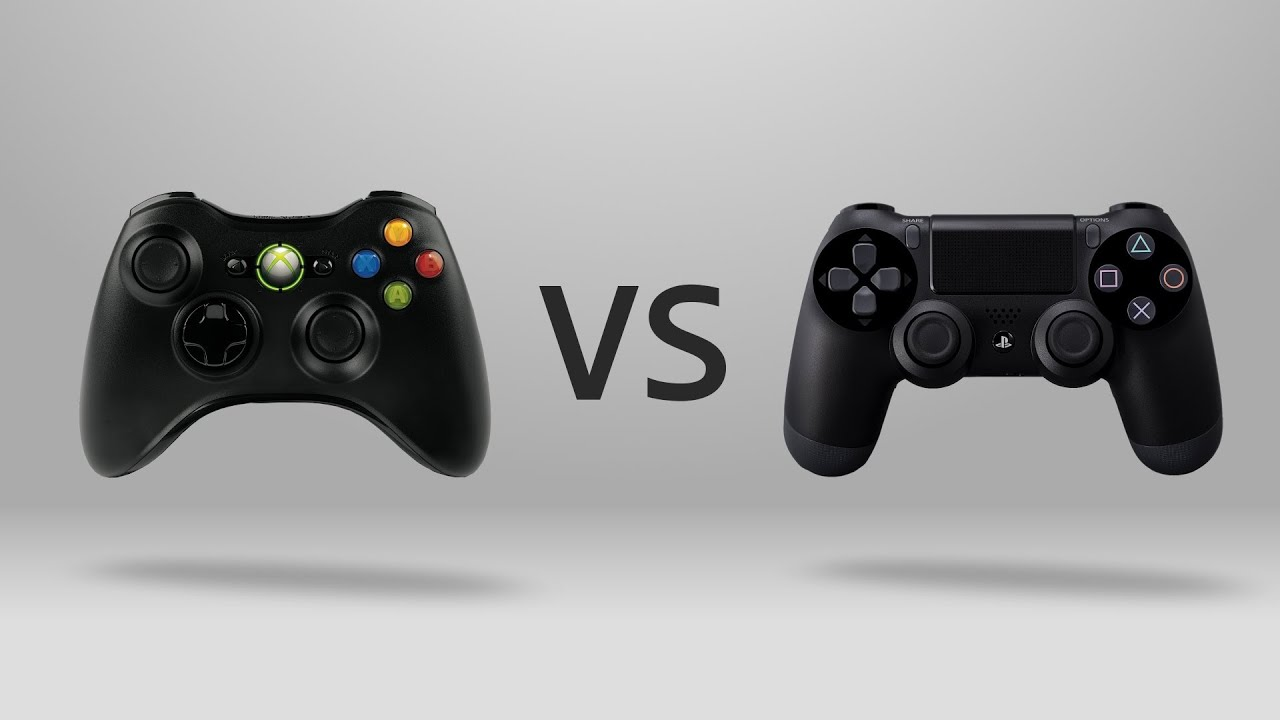 17 gt  Images For - Ps4 Controller Vs Xbox One Controller SizeXbox One Controller Vs Ps4 Controller Size