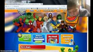 NEW HEROUP SUPER HERO SQUAD CODES 2014
