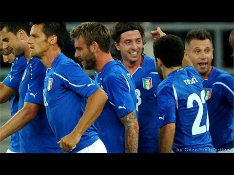 ITALIA - IRLANDA 2-0 - EUROPEO 2012 - GOAL BALOTELLI CASSANO