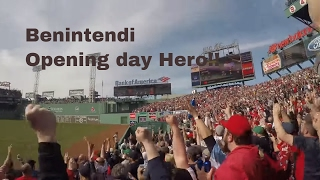 Red Sox Opening day 2017 Fenway Park