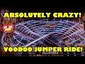 Voodoo Jumper CRAZY Oktoberfest Ride Munich Germany More INSANE than Roller Coasters