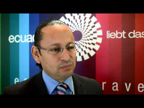 Patricio Gaybor, general director, Quito Tourism Board