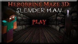 Herobrine Maze 3D Slender Man Android Gameplay HD