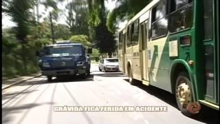 Gr�vida fica ferida em acidente - Alterosa em Alerta 28/01