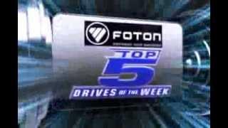 Foton PBA Top Five Drives