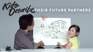 Kids Describe Their Future Partners to Koji the Illustrator   Kids Describe   HiHo Kids