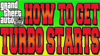 GTA 5 ONLINE RACE TURBO START TUTORIAL HOW TO GET TURBO