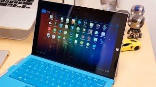 بالفيديو : تشغيل تطبيقات الاندرويد على الحاسوب اللوحى Surface Pro 3