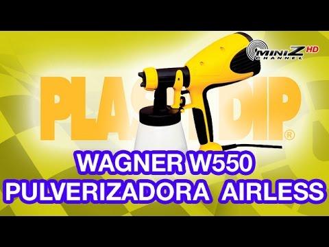 Wagner W550 Pulverizador Airless para Plasti-Dip - MiniZ Channel - 278