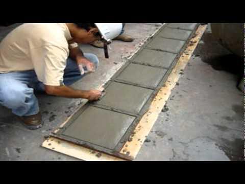 Losetas de concreto sencico trujillo 2010 youtube - Como hacer un suelo de hormigon ...