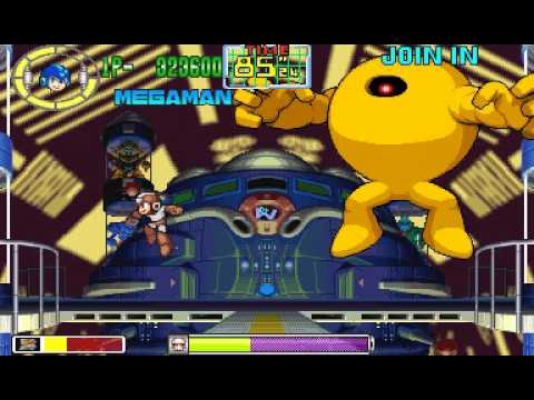 Mega Man: The Power Battle (CPS1, USA 951006) - Foodpers Attempts...Vizzed.com Play - User video